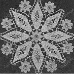 diamond doily